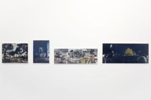 Andrea Aquilanti, Quattro Passi, particolare della mostra2
