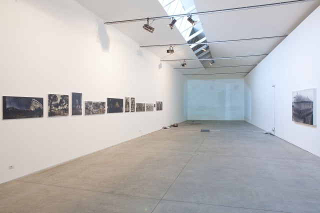 Andrea Aquilanti, Quattro Passi, veduta della mostrajpg