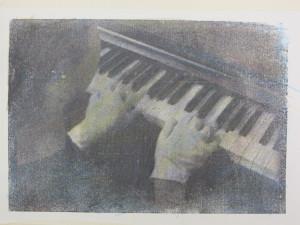 Disegno di Andrea Aquilanti per la performance