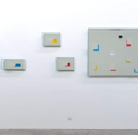 Look at you, Guardati, particolare della mostra di Chiara Dynys, 2012