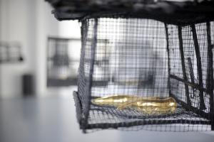 dettaglio della mostra Madre Oro