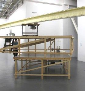 Dettaglio di Ivory and Pride di Wouter Klein Velderman nella mostra  Triggering Reality, Museo Pecci di Prato, dicembre 2012 - marzo2013