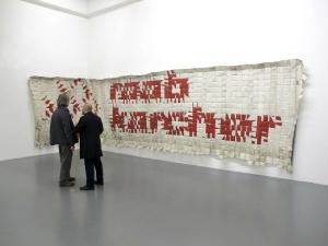 Raab Karcher di Wouter Klein Velderman nella mostra  Triggering Reality, Museo Pecci di Prato, dicembre 2012 - marzo2013