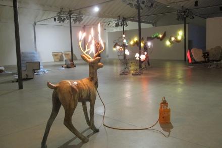 Dennis Oppenheim, immagini della mostra