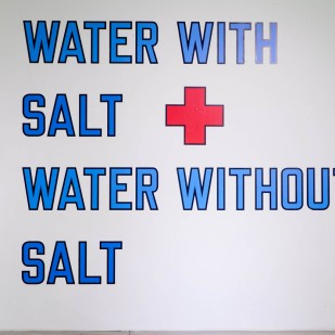 Water with salt water without salt, 1987