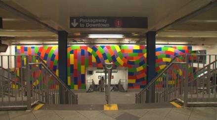 In occasione del ventennale di esecuzione del Wall Drawing#736. Rectangles of Color di Sol LeWitt al Centro per l'arte contemporanea Luigi Pecci di Prato