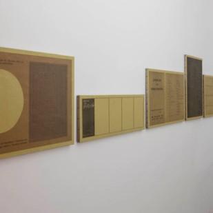 Toute une vie, tous les éléments, tous les documents, veduta della mostra
