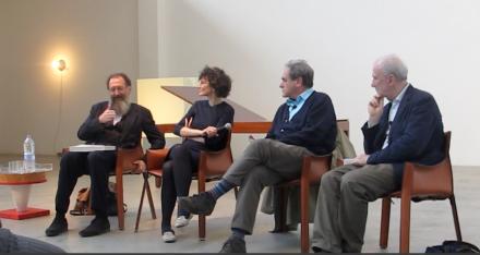 Michele De Lucchi, Federica Sala, Alberto Garutti, Massimo Minini