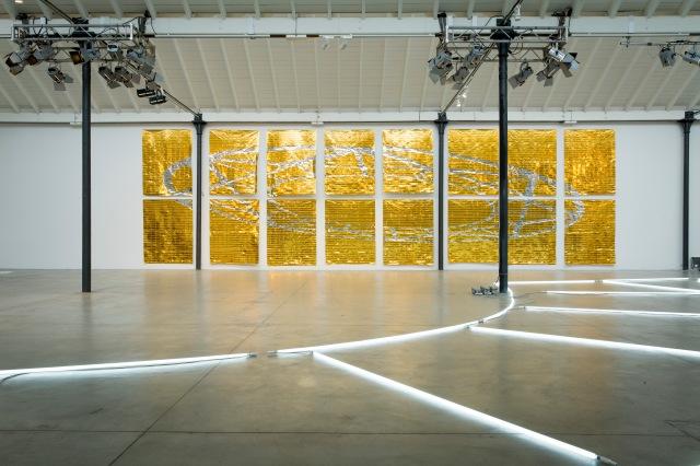 After the Gold Rush, 2016-veduta installazione 440 x 1400cm-alta-foto Nicola Zocchi
